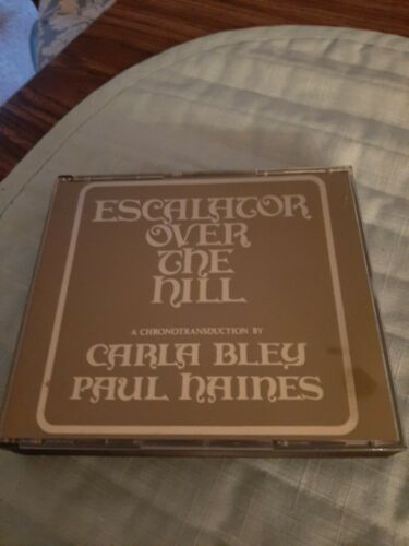 Escalator Over the Hill by Paul Haines (CD, 2000)