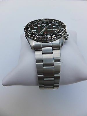 22Mm Curved Stainless Steel Oyster Bracelet Fit Seiko 7S26 Skx007 Skx009 Skx011