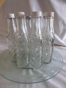 VINTAGE/RETRO GLASS SODASTREAM BOTTLES - TWELVE - MADE IN UK Willaston Gawler Area Preview