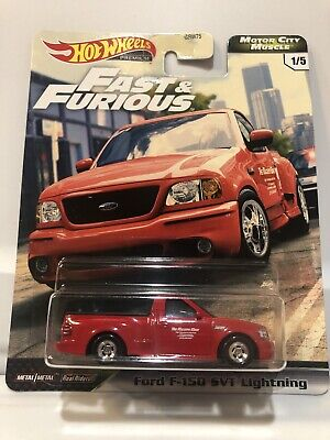 Hot Wheels Fast and Furious Motor City Muscle Ford F-150 SVT Lightning**VHTF**!!