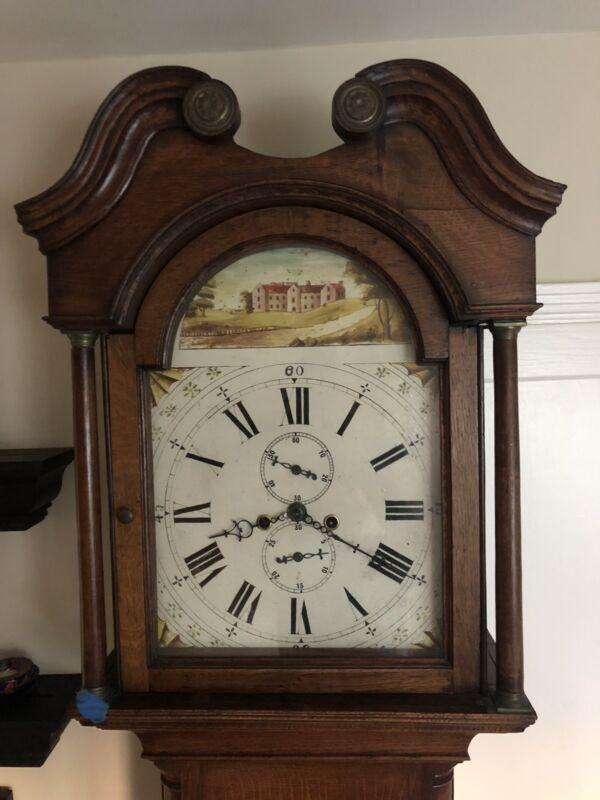 Antique English Tall Case / Grandfather Clock c. 1860