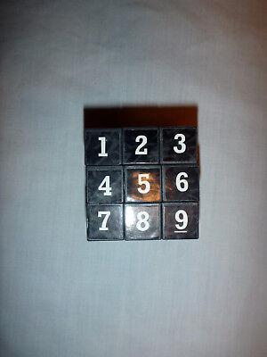 SUDOKU Math Puzzle Cube 3x3 Rubiks Rubics Rubix Number Game Toy Brain -