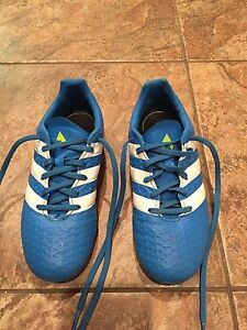 Adidas Soccer Cleats - outdoor, youth size 2