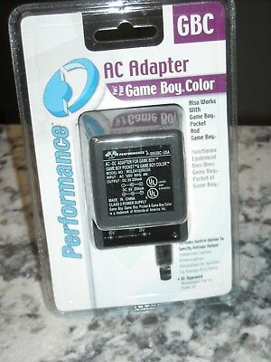 AC Adapter for Game Boy Color GBC Performance NEW Pocket -