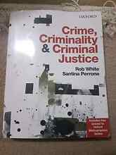 Crime, criminality and criminal justice book Hobart CBD Hobart City Preview