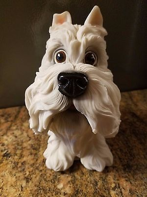 West Highland Terrier Coin Dog Bank