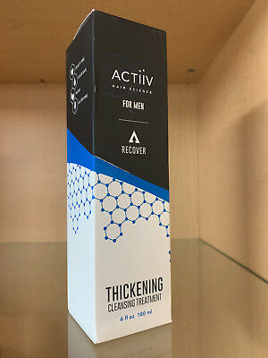 Hair Recovery - ACTiiV Hair Science Recovery Thickening Cleansing Treatment For Men 6oz - NEW!