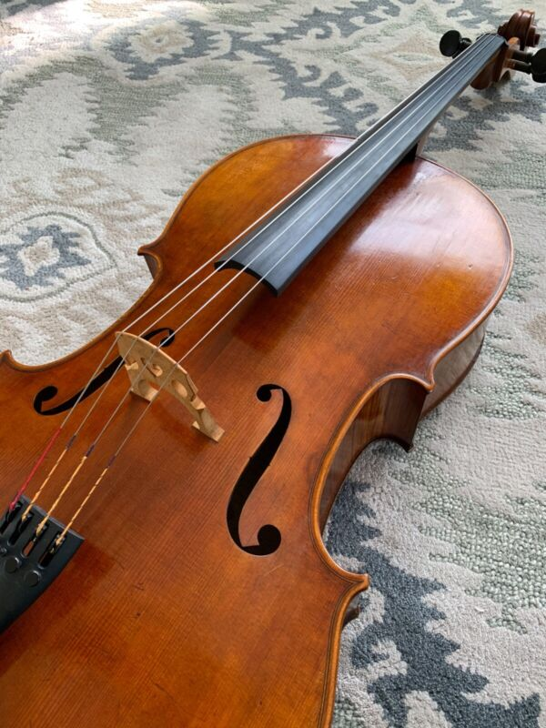 4/4 Cello made by Mario Uccellino + Case