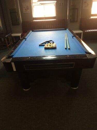 9ft American Pool Table K Steel Sam