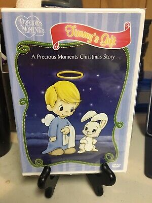 - Precious Moments: Timmy's Gift Sealed DVD w/ Ripped Shrink Wrap Christmas Story