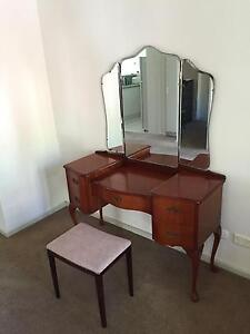 Wooden Dressing Table Sefton Park Port Adelaide Area Preview