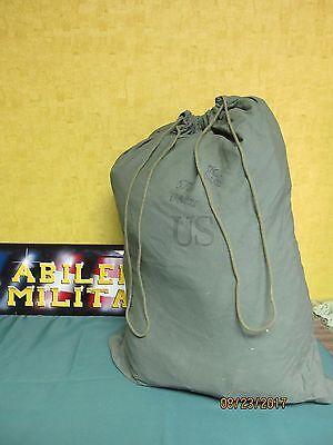 Military Barracks Laundry Bag Cotton Duffle Rucksack Swag Storage USGI Army GOOD