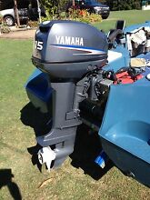 Yamaha 15 HP 2 stroke outboard motor Torquay Fraser Coast Preview