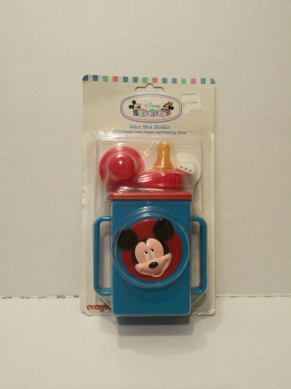 Vintage 1995 Evenflo Disney Babies Juice Box Holder New In Package