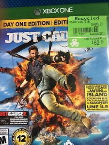 Selling just cause 3 and watch dogs 2 on Xbox one