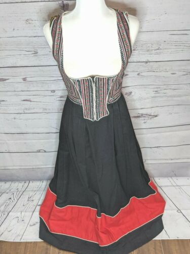 Vintage Dirndl Strasser Trachten Cottonwick German Cosplay Oktoberfest Dress