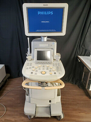Philips Iu22 Ultrasound Machine With Probes Manufactured 2012