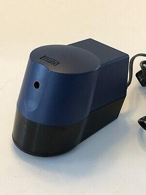 Boston Hunt Desktop Electric Pencil Sharpener Model 21 Blue And Black