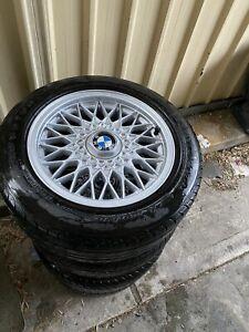 "15""basketweave wheels with caps"