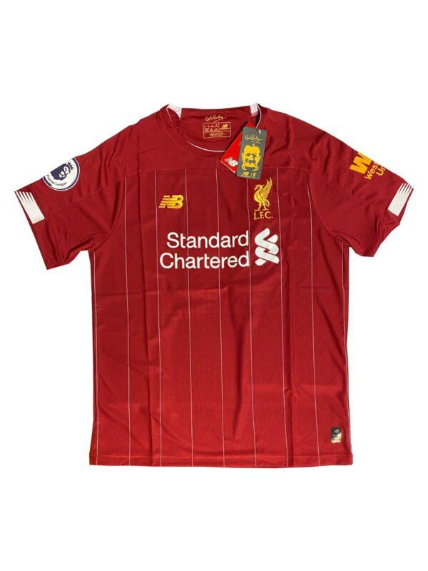 New Balance Liverpool FC Mohamed Mo Salah Red Jersey 2019-20 Men