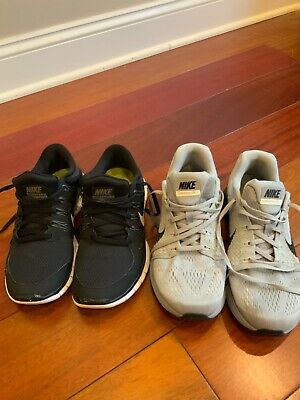 Lot of 2 Nike Lunarglide 7 and Free Run 5.0 women's Running Shoes Size 9.5