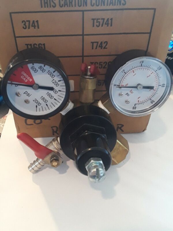 co2 regulator Tc5741Hp.Tap rite