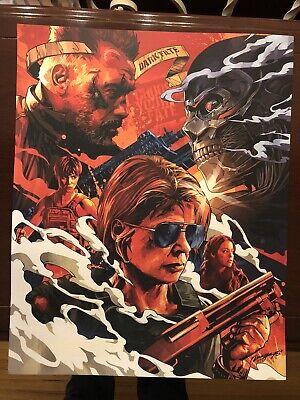 Terminator Dark Fate Movie Poster & Bonus  Carl's Cupholder