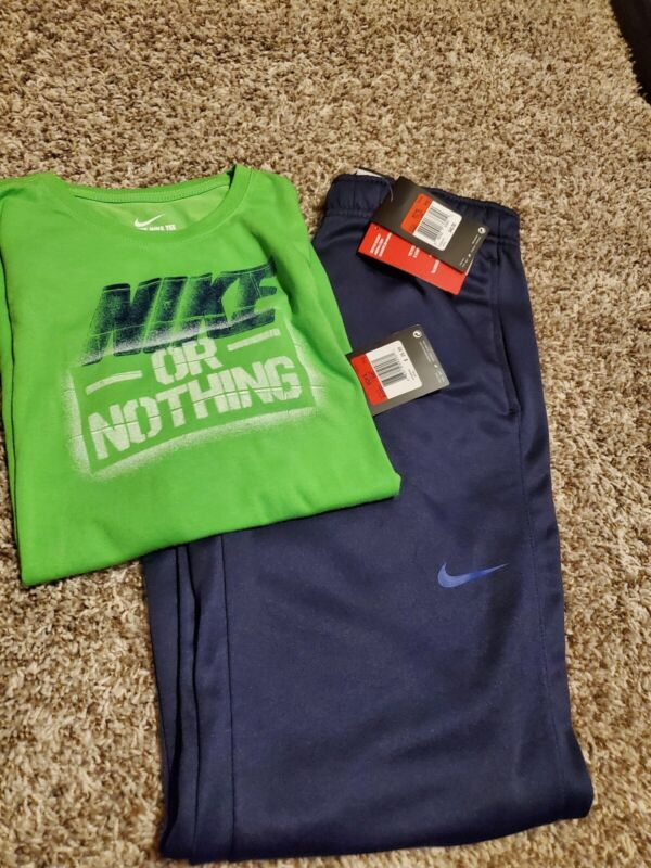 NIKE Outfit. BRAND NEW. Youth. Size LARGE. Joggers with Tshirt