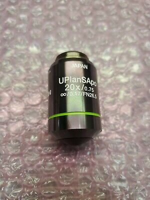 Olympus Uplansapo 20x0.75 Fn26.5 Microscope Objective - Excellent