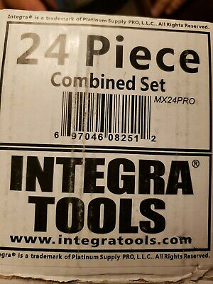 Integra 24pc Oscillating Multitool Saw Blade Fits Fein Multimaster Makita Bosch