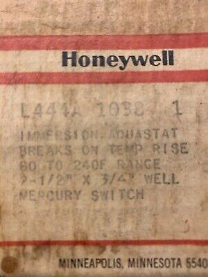Honeywell L444a 1038 Immersion Aquastat