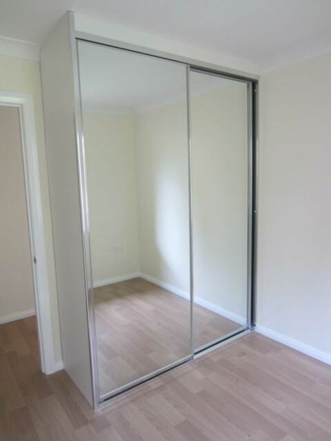 Diy Wardrobe Mirror Glass Sliding Doors Made To Measure