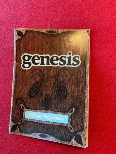 Genesis 1975 European Tour Program (The Lamb Lies Down On Broadway)