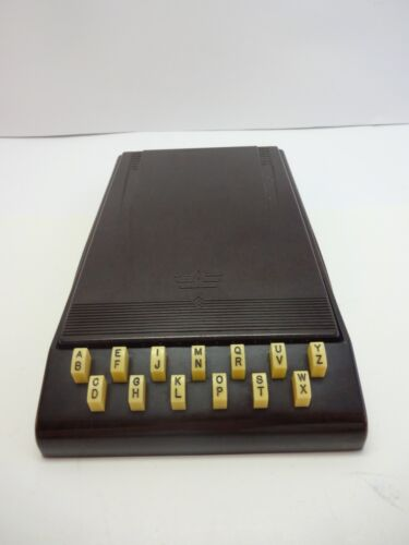 Art Deco Bakelite Autopoint Desk or Tabletop Index Made in the USA