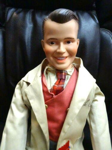 "RARE Juro 1958 American Bandstand Dick Clark 26"" Autograph Doll w/Show Ribbon"
