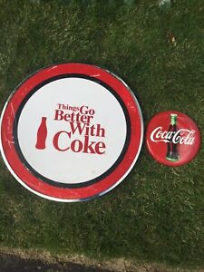 Coke table top and button