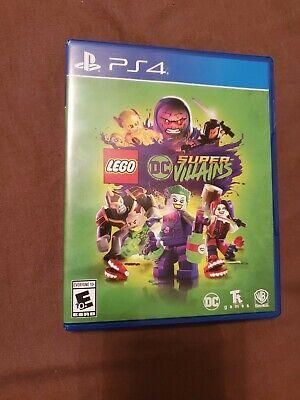 LEGO: DC Comics Super Villains (PlayStation 4, 2018)