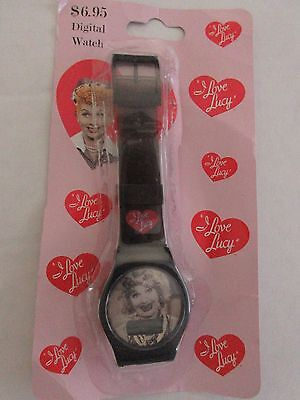 I LOVE LUCY Digital Watch Classic TV Show Lucille Ball Collectible New Sealed