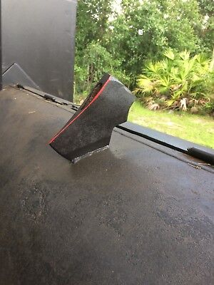 Bbq Smoker Trailer Custom Built All Steel 14 Thick Only Used 4 Times