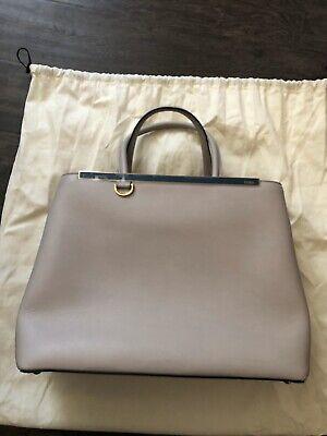 Authentic Fendi 2 jours Bag regular