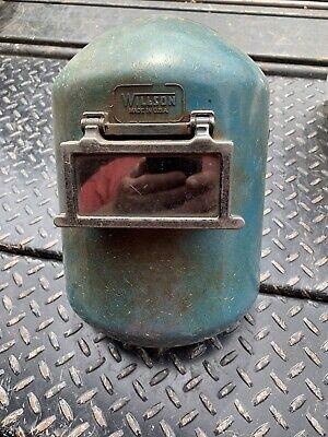 Vintage Willson Welding Safety Helmet