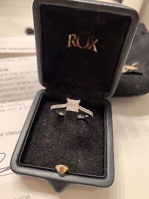 Rox Princess Cut Diamond Engagement Ring