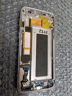 Excellent Samsung Galaxy S7 Edge G935a G935v Lcd Digitizer Frame Gold Light Sbi