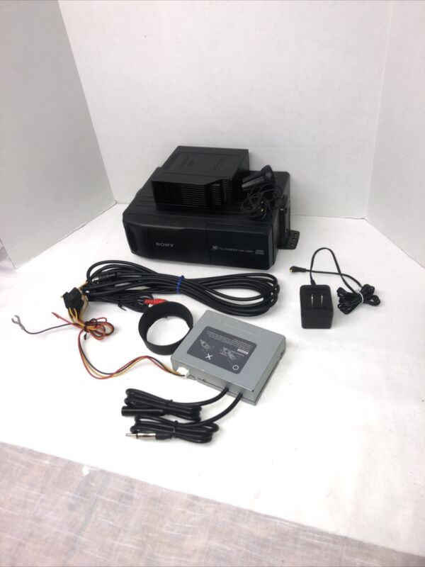 Sony Cd Changer Stystem For Vehicle Model Cdx-415rf 10 Cd Changer With Connecter