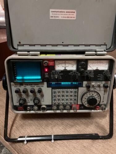 IFR FM / AM 1200 -receiver and generator, oscilloscope / spectrum analyzer