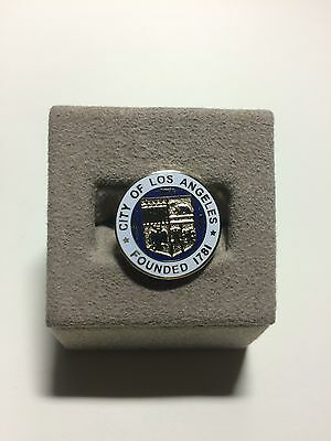 CITY OF LOS ANGELES - LAPEL Pin/ Tie Tack - LAPD/POLICE/FIRE/GOVT