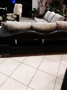 Unusual corner lounge. Priced to go
