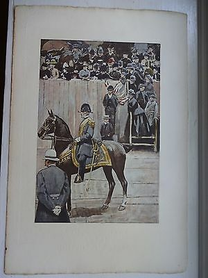 Beautiful Antique Print - LIEUTENANT-GENERAL, 1886 - (c)1891 by G.B