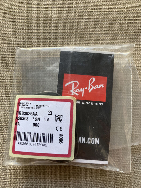 Authentic RAY BAN RB3025 55 mm Grey Gradient Replacement Lenses for Aviators