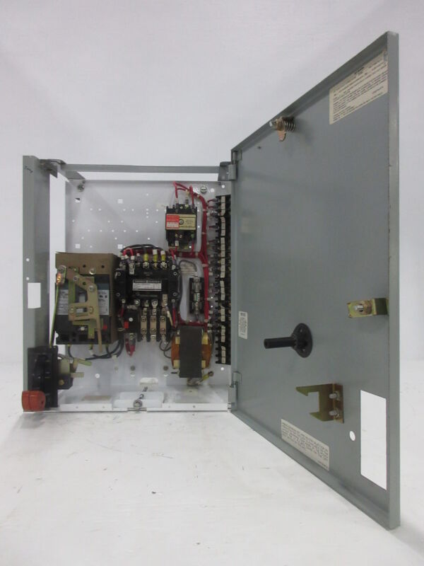"General Electric GE 8000 Size 1 Starter 7 Amp TEC Breaker Type 18"" MCC Bucket"